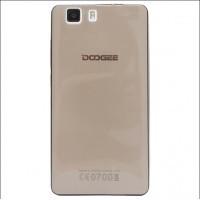Силиконовый матовый полупрозрачный чехол для Doogee X5 Черный