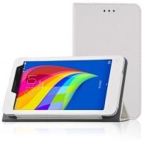 Чехол подставка с рамочной защитой для Huawei MediaPad T1 7.0 Белый