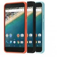 Оригинальный силиконовый матовый непрозрачный чехол для Google LG Nexus 5X