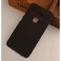 Пластиковый непрозрачный матовый чехол для Asus ZenFone 3 5.5 Черный