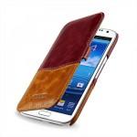 Чехол кожаный элитный для Samsung Galaxy Note 2