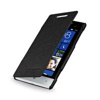 Чехол кожаный книжка горизонтальная (нат. кожа) для HTC Windows Phone 8S