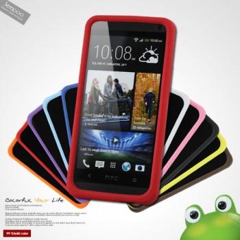 Силиконовый чехол премиум для HTC One M7 Dual SIM