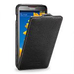 Чехол кожаный книжка вертикальная (нат.кожа) для Huawei Ascend D1 U9500