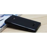 Силиконовый чехол для Huawei Ascend W1 Черный