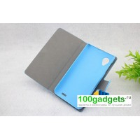 Чехол-флип для Lenovo Ideaphone P770 Голубой