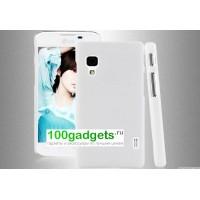 Пластиковый чехол для LG Optimus L5 2 II Белый