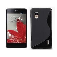 Чехол силиконовый для LG Optimus G E973 Черный