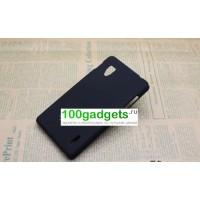 Чехол пластиковый для LG Optimus G E973 Черный