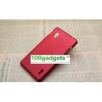 Чехол пластиковый для LG Optimus G E973 Красный