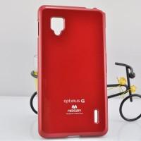 Чехол силиконовый для LG Optimus G E973 Красный