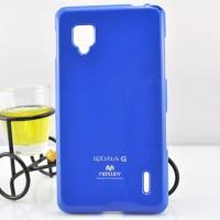 Чехол силиконовый для LG Optimus G E973 Синий