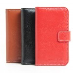 Кожаный чехол портмоне для Meizu MX2