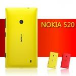 Пластиковый чехол оригинальный для Nokia Lumia 520/525