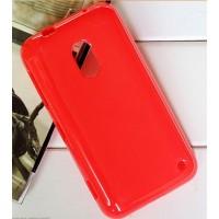 Силиконовый чехол для Nokia Lumia 620 Красный