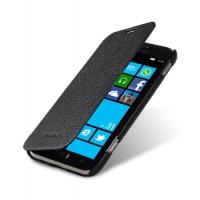 Чехол кожаный книжка горизонтальная (нат. кожа) для Samsung Ativ S i8750
