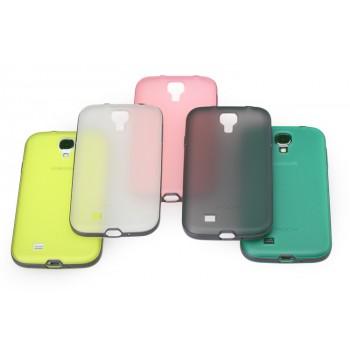 Силиконовый чехол 2 в 1 (чехол+ бампер) для Samsung Galaxy S4