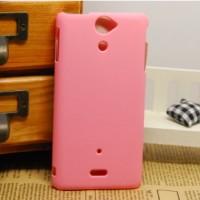 Чехол пластиковый для Sony Xperia V Розовый