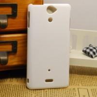 Чехол пластиковый для Sony Xperia V Белый