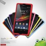 Силиконовый софт-тач премиум чехол для Sony Xperia Z