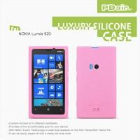 Чехол премиум для Nokia Lumia 920 силиконовый PDair Розовый
