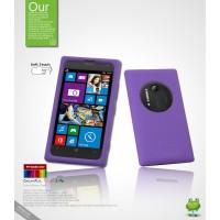 Силиконовый чехол премиум для Nokia Lumia 1020 Фиолетовый