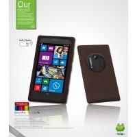 Силиконовый чехол премиум для Nokia Lumia 1020 Коричневый