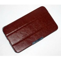 Чехол флип подставка сегментарный серия Leather Up для LG G Pad 8.3 Коричневый