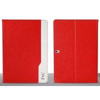 Кожаный чехол подставка серия D Color для Samsung Galaxy Tab Pro 10.1 Красный