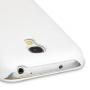Кожаный чехол книжка горизонтальная (нат. кожа) для Samsung Galaxy S4 Mini белая