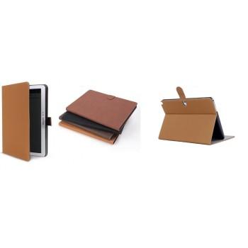 Винтажный чехол флип подставка с застежкой серия Just Stand для Samsung Galaxy Note 10.1 2014 Edition