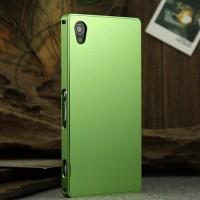 Металлический чехол для Sony Xperia Z1 Зеленый