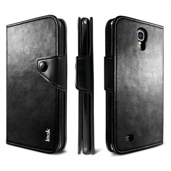 Кожаный чехол портмоне для Samsung Galaxy Mega 6.3
