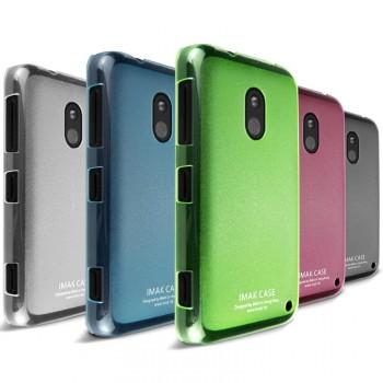 Пластиковый ультратонкий чехол для Nokia Lumia 620 серия Slim