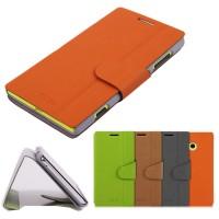 Чехол книжка боковой с застежкой чехол для Nokia Lumia 720