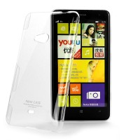 Пластиковый транспарентный чехол для Nokia Lumia 625