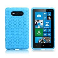 Ультразащитный чехол для Nokia Lumia 820 Голубой