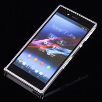 Металлический бампер для Sony Xperia Z Ultra Белый
