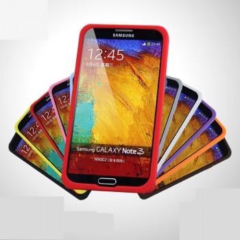 Силиконовый премиум чехол софт тач для Samsung Galaxy Note 3