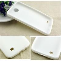 Силиконовый чехол для HTC Desire 300 Белый
