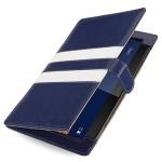 Эксклюзивный кожаный чехол подставка (нат. кожа) серия Sport Lines для Nokia Lumia 2520