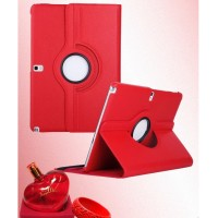 Чехол подставка роторный для Samsung Galaxy Note 10.1 2014 Edition Красный