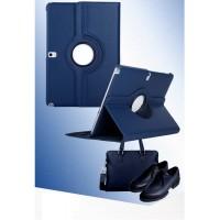 Чехол подставка роторный для Samsung Galaxy Note 10.1 2014 Edition Синий