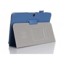 Чехол подставка серия Full Cover для Samsung Galaxy Tab 4 10.1 Синий