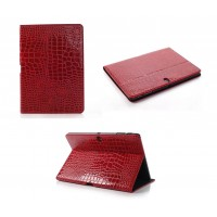 Чехол подставка серия Croco Pattern для Samsung Galaxy Tab Pro 10.1 Красный