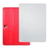 Кожаный чехол подставка серия Full Wallet для Samsung Galaxy Tab Pro 10.1 Белый