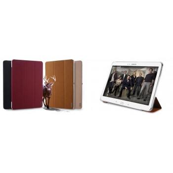 Чехол смарт флип подставка текстурный сегментарный для Samsung Galaxy Tab Pro 10.1