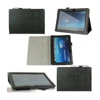 Чехол подставка с внутренними отсеками серия Full Cover для ASUS MemoPad FHD 10 ME102a Черный