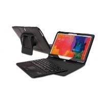 Кожаный чехол подставка (нат. кожа) с Bluetooth клавиатурой (English version) для Samsung Galaxy Tab Pro 10.1