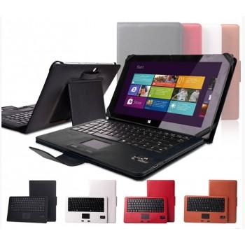 Кожаный чехол подставка (нат. кожа) с Bluetooth клавиатурой (English) для Microsoft Surface 2